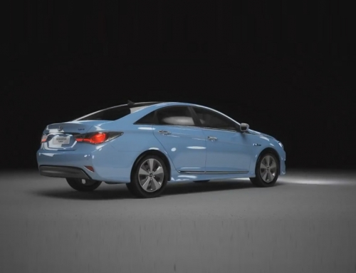 Hyundai Hybrid Sonata  video editing for kiosk